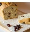 Chleb domowy na zakwasie z żurawiną